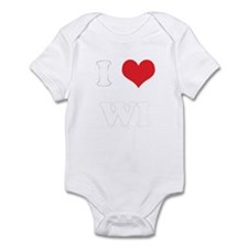 I Heart WI Infant Bodysuit