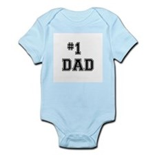#1 Dad Body Suit