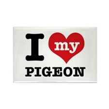 i love my Pigeon Rectangle Magnet (10 pack)