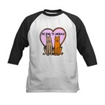 Be Kind To Animals Kids Baseball Jersey