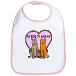Be Kind To Animals Bib