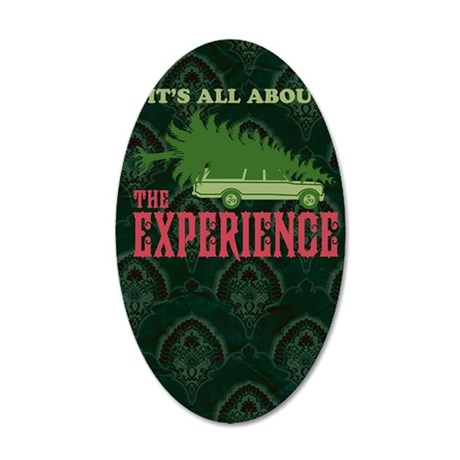 The Experience book 35x21 Oval Wall Decal