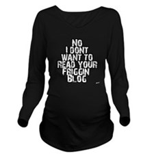 blog Long Sleeve Maternity T-Shirt