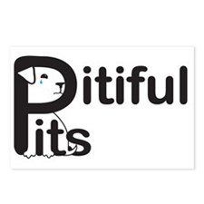 Pitiful Pits logo JPG Postcards (Package of 8)