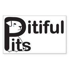 Pitiful Pits logo JPG Decal