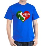 I Love My Italian Wife T-Shirt
