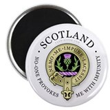 Flower of Scotland Magnet