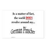 German Pinscher World Postcards (Package of 8)