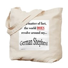 German Shepherd World Tote Bag