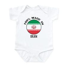 Made In Iran Infant Bodysuit