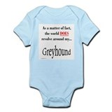 Greyhound World Infant Bodysuit