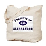 Property of alessandro Tote Bag