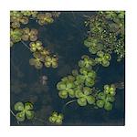 Floating Clover Decorative Tile