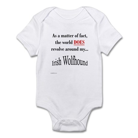 Wolfhound World Infant Bodysuit