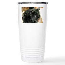 Black Hamster Travel Mug