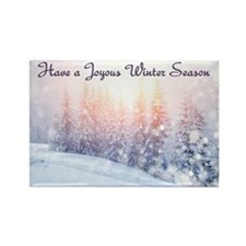 Winter Season Magnets