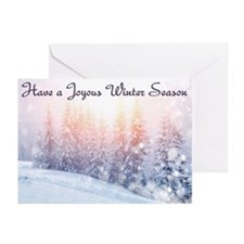 Winter Season Greeting Cards (Pk Of 20)