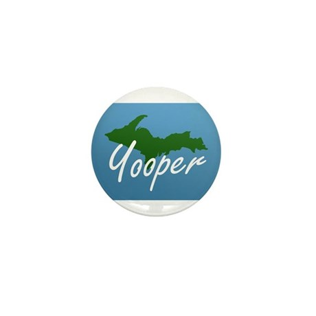 Yooper Blue Mini Button (10 pack)