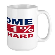 1% bumpersticker Coffee Mug