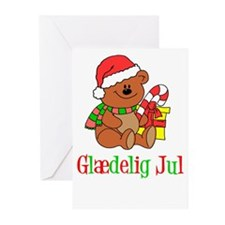 Glaedelig Jul Danish Greeting Cards (Pk Of 20)