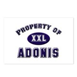 Property of adonis Postcards (Package of 8)