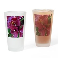CrimsonPink Drinking Glass