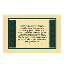 Irish Blessing Postcards (Package of 8)