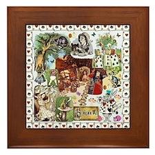 Wonderland Framed Tile