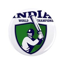 "cricket player batsman india world cha 3.5"" Button"