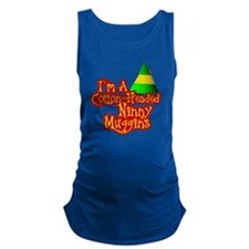 Cotton Headed Ninny Muggins Maternity Tank Top
