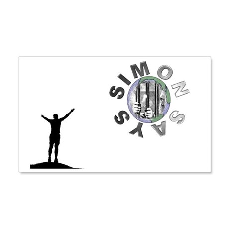 simon says 20x12 Wall Decal