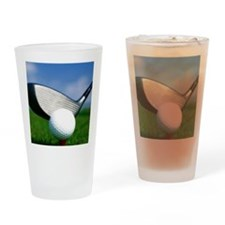 golf puzzle Drinking Glass