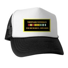 uss-richard-s-edwards-vietnam-veteran- Trucker Hat