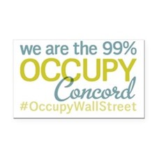 Occupy Concord Rectangle Car Magnet
