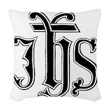 IHS Woven Throw Pillow