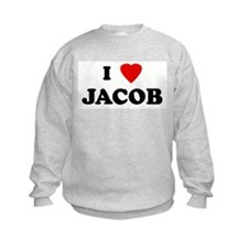 I Love JACOB Sweatshirt