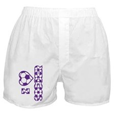 purple sideways Boxer Shorts