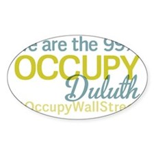 Occupy Duluth Decal