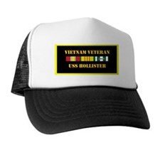 uss-hollister-vietnam-veteran-lp Trucker Hat