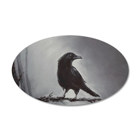 raven.gif 35x21 Oval Wall Decal