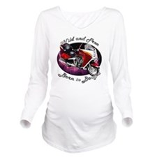 cat9car54bg46ut18lt5 Long Sleeve Maternity T-Shirt