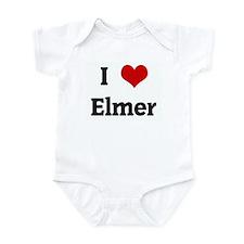 I Love Elmer Onesie
