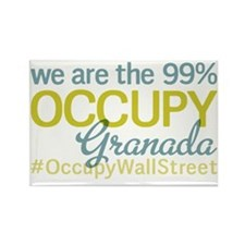 Occupy Granada Rectangle Magnet