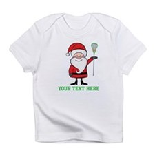 Lacrosse Santa Personalized Infant T-Shirt