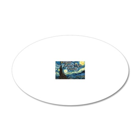 Andres 20x12 Oval Wall Decal