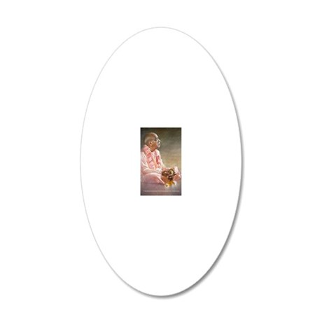 cp_magnet_TA0687 20x12 Oval Wall Decal