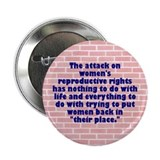 WOMEN'S RIGHTS Button
