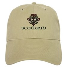 Scotland with Plaid Thistle Baseball Cap
