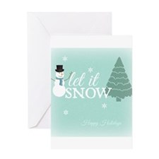Simple Wishes Let It Snow Blank Greeting Cards