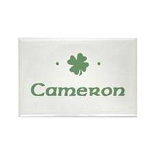 """Shamrock - Cameron"" Rectangle Magnet"